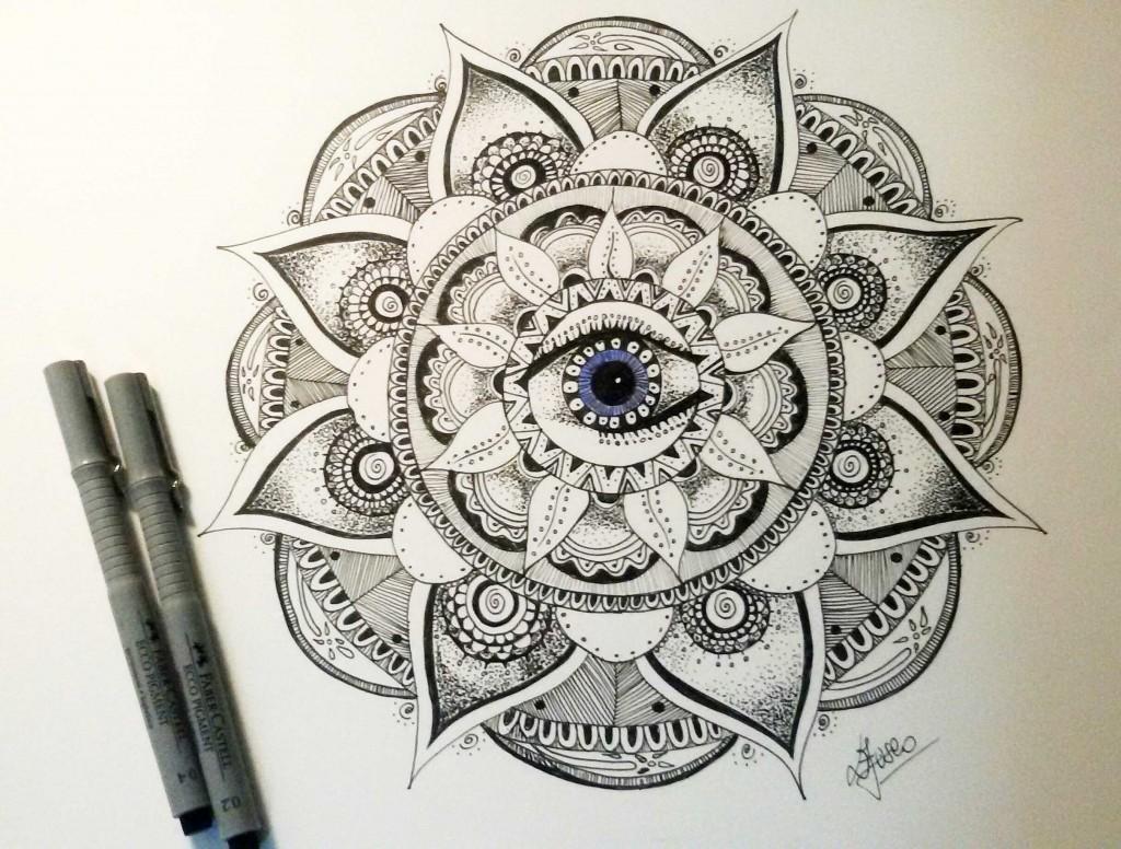 Mandala Terzo Occhio