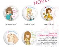 BabyWearing e BabyMassage - Le calamite